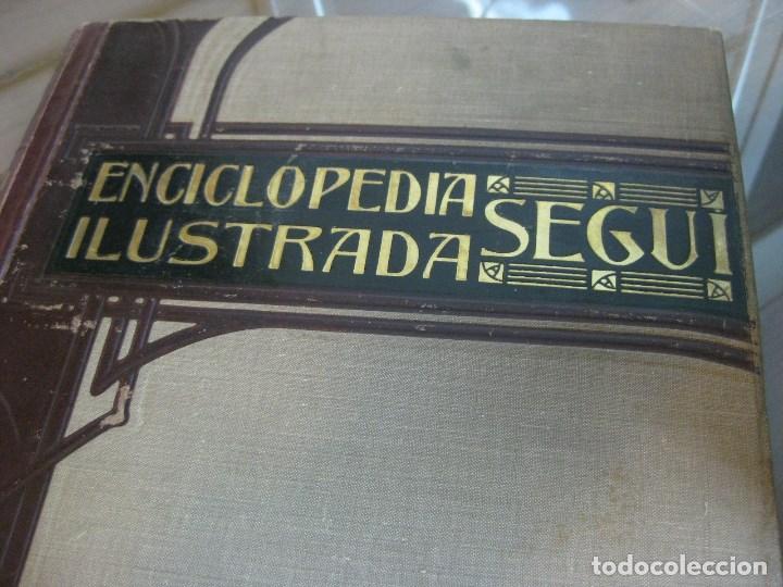 Diccionarios antiguos: Año 1905 GRAN DICCIONARIO FRANCES ESPAÑOL. SUPLEMENTO ENCICLOPEDIA ILUSTRADA SEGUI, BARCELONA - Foto 13 - 196669993