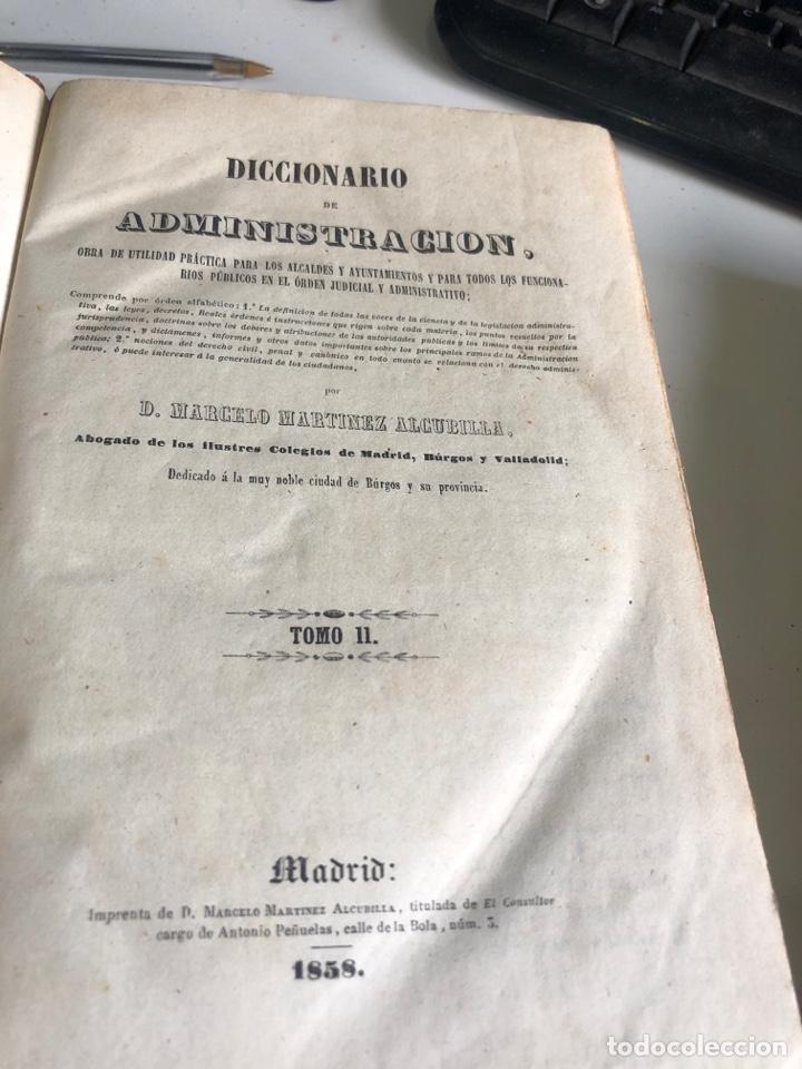 Diccionarios antiguos: Diccionario de administración - Foto 4 - 198586671