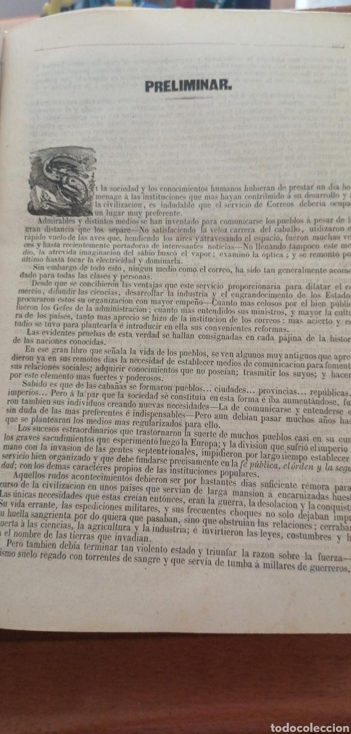 Diccionarios antiguos: DICCIONARIO GEOGRÁFICO POSTAL DE ESPAÑA CON SUS POSESIONES DE ULTRAMAR DOS TOMOS AÑO 1855 - Foto 7 - 81034655