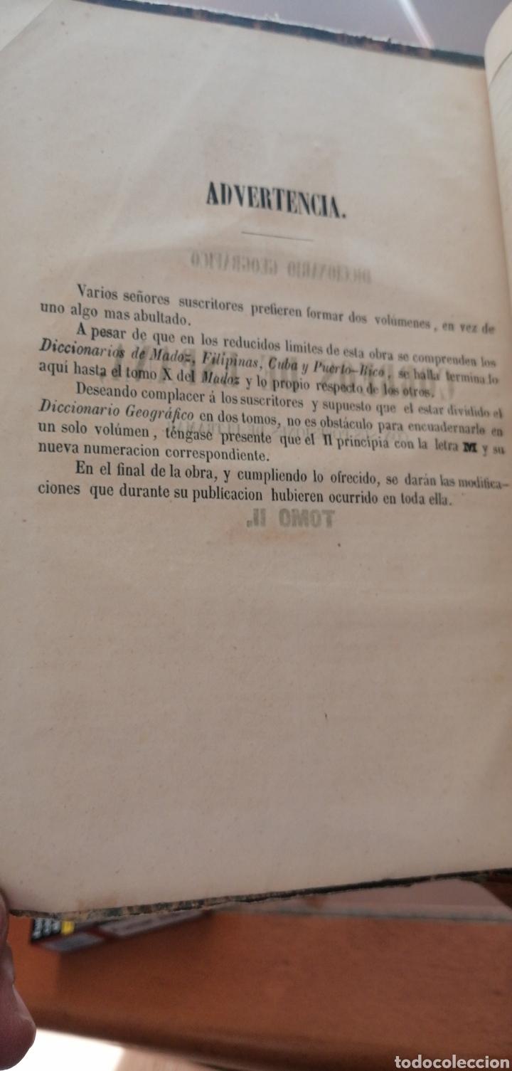 Diccionarios antiguos: DICCIONARIO GEOGRÁFICO POSTAL DE ESPAÑA CON SUS POSESIONES DE ULTRAMAR DOS TOMOS AÑO 1855 - Foto 9 - 81034655
