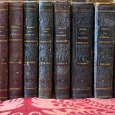 Diccionarios antiguos: DICCIONARIO GEOGRAFICO-ESTADISTICO-HISTORICO DE ESPAÑA Y SUS POSESIONES . MADOZ. Lote 199637385