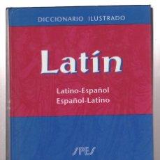 Diccionarios antiguos: LATIN-DICCIONARIO ILUSTRADO-SPES-VOX. Lote 288358278
