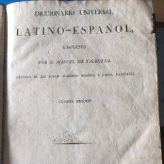 Diccionarios antiguos: LATINO-ESPAÑOL 1819. Lote 200272940