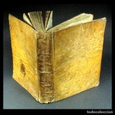 Livros antigos: AÑO 1821 DICHOS Y REFRANES IMPRENTA VALLADOLID THESAURUS HISPANO-LATINUS PERGAMINO CASTELLANO LATÍN. Lote 108678439