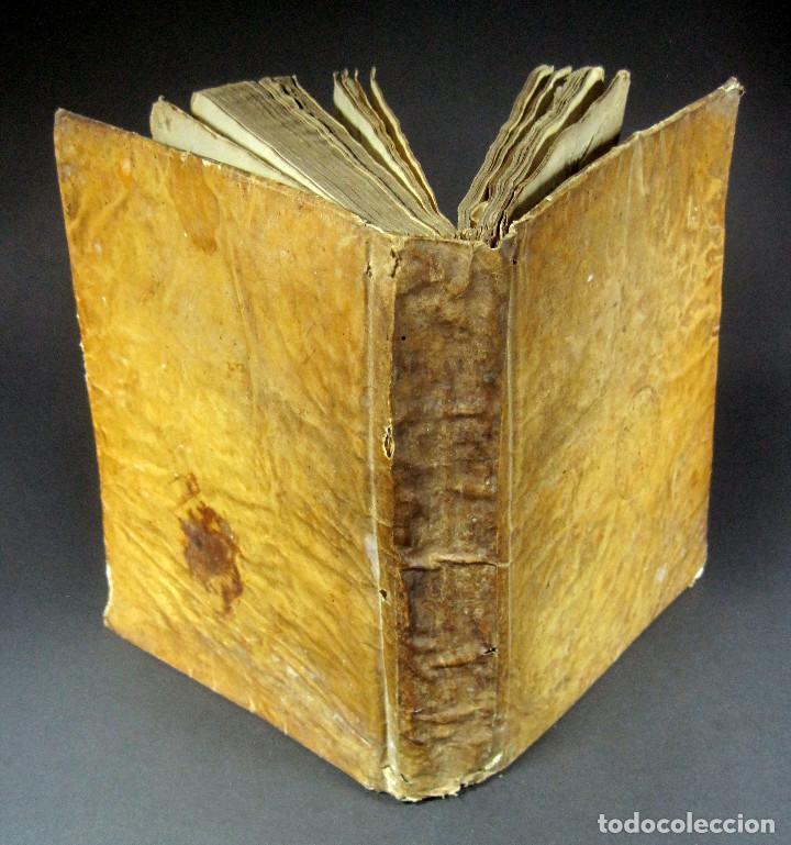 Diccionarios antiguos: Año 1821 Dichos y refranes Imprenta Valladolid Thesaurus hispano-latinus Pergamino Castellano Latín - Foto 2 - 108678439