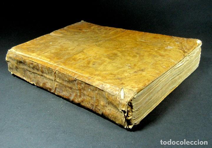 Diccionarios antiguos: Año 1821 Dichos y refranes Imprenta Valladolid Thesaurus hispano-latinus Pergamino Castellano Latín - Foto 3 - 108678439