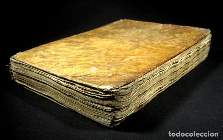 Diccionarios antiguos: Año 1821 Dichos y refranes Imprenta Valladolid Thesaurus hispano-latinus Pergamino Castellano Latín - Foto 18 - 108678439