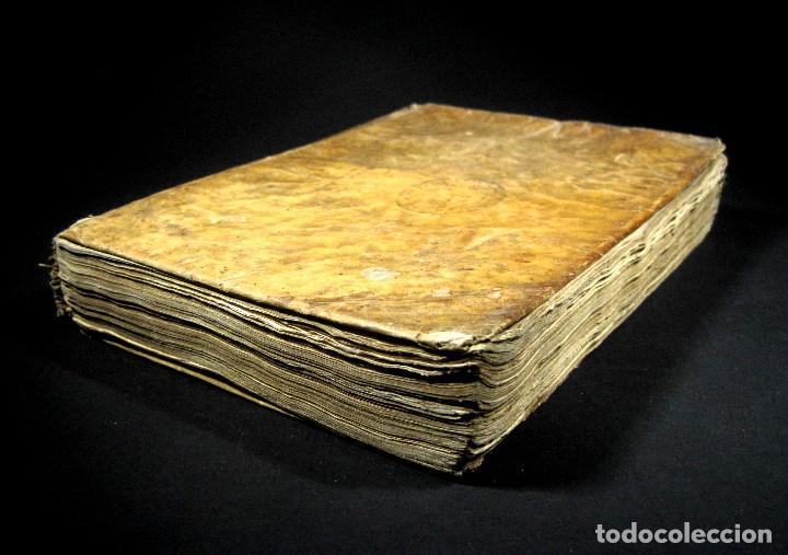 Diccionarios antiguos: Año 1821 Dichos y refranes Imprenta Valladolid Thesaurus hispano-latinus Pergamino Castellano Latín - Foto 4 - 108678439