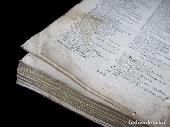 Diccionarios antiguos: Año 1821 Dichos y refranes Imprenta Valladolid Thesaurus hispano-latinus Pergamino Castellano Latín - Foto 16 - 108678439
