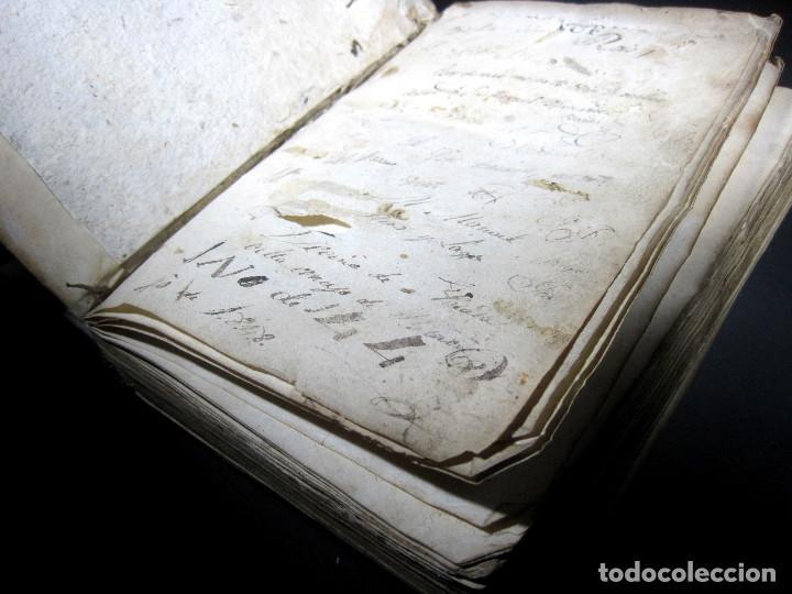 Diccionarios antiguos: Año 1821 Dichos y refranes Imprenta Valladolid Thesaurus hispano-latinus Pergamino Castellano Latín - Foto 17 - 108678439
