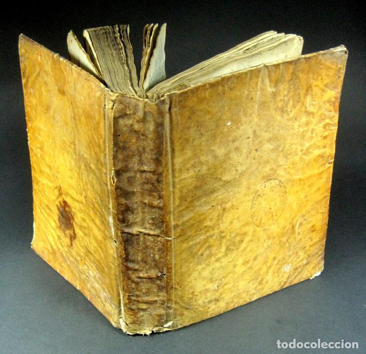 Diccionarios antiguos: Año 1821 Dichos y refranes Imprenta Valladolid Thesaurus hispano-latinus Pergamino Castellano Latín - Foto 19 - 108678439