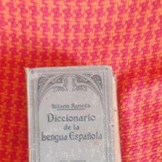 Diccionarios antiguos: DICCIONARIO DE LA LENGUA ESPAÑOLA DE ATILANO RANCÉS, AÑO 1937. Lote 203915648