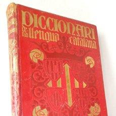 Diccionarios antiguos: DICCIONARI DE LA LLENGUA CATALANA SALVAT *** VOLUM III LETRA T - Z. Lote 204429252