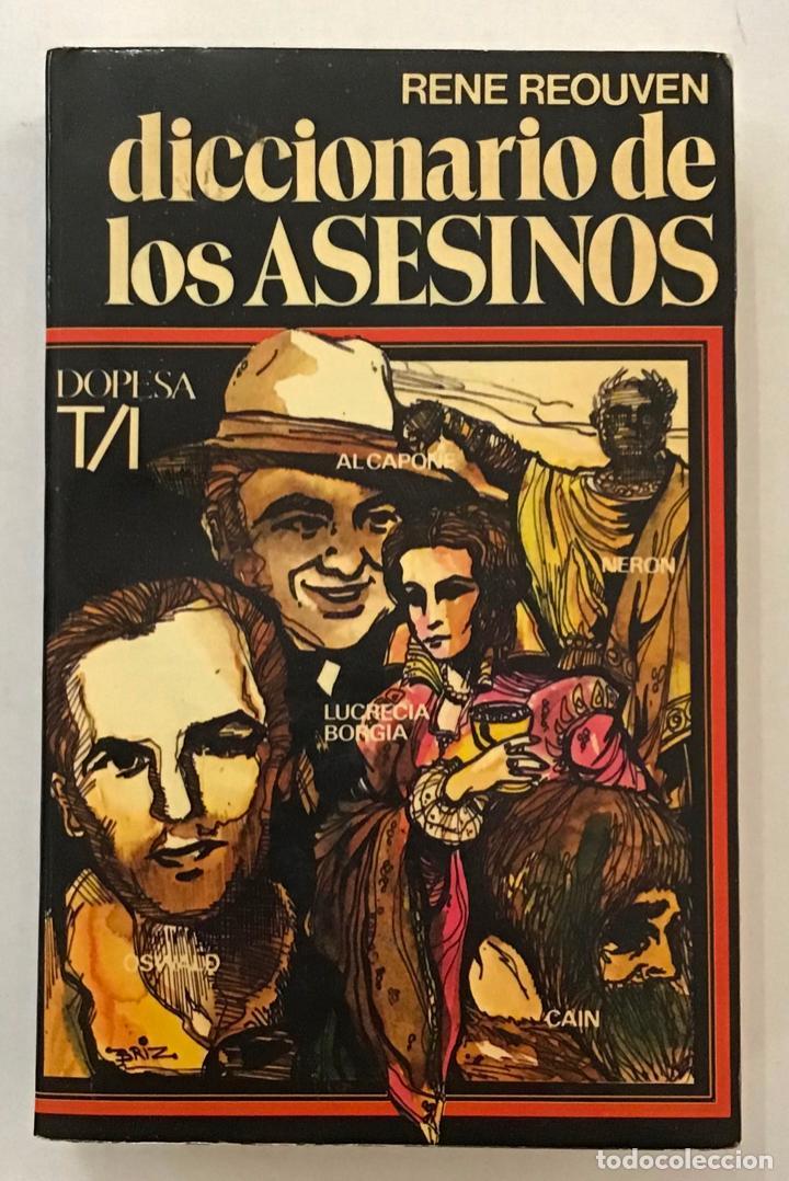 DICCIONARIO DE LOS ASESINOS. (Libros Antiguos, Raros y Curiosos - Diccionarios)
