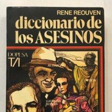 Diccionarios antiguos: DICCIONARIO DE LOS ASESINOS.. Lote 204658971