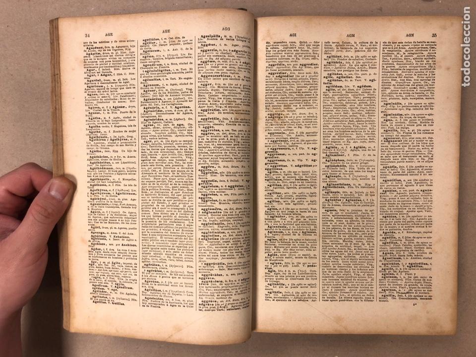 Diccionarios antiguos: NUEVO DICCIONARIO LATINO - ESPAÑOL ETIMOLÓGICO. RAIMUNDO DE MIGUEL. 1893 SÁENZ DE JUBERA HERMANOS ED - Foto 5 - 205102015