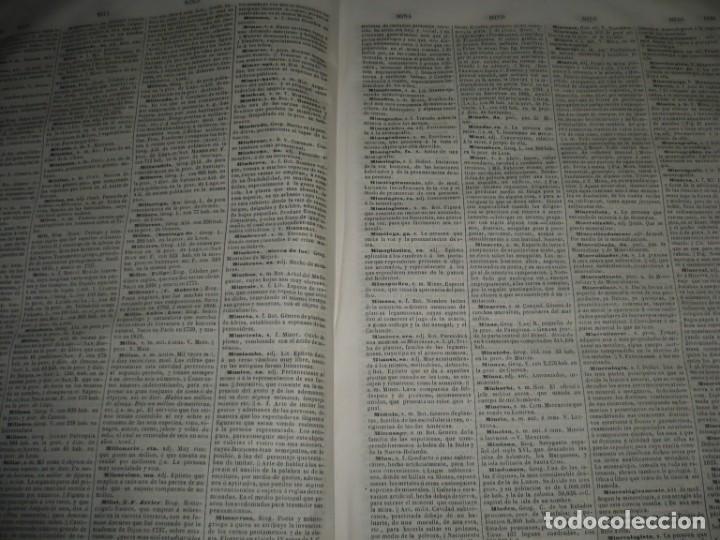 Diccionarios antiguos: DICCIONARIO NACIONAL DE LA LENGUA ESPAÑOLA R. JOAQUIN DOMINGUEZ 1849 MADRID TOMO II+SUPLEMENTO - Foto 6 - 205330998