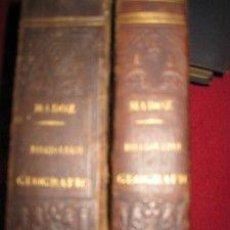 Libri antichi: DICCIONARIO GEOGRÁFICO ESTADÍSTICO HISTÓRICO. MADOZ. 1848 (ARB-BAR) (NAB -PEZ) DOS VOLÚMENES. Lote 205440091