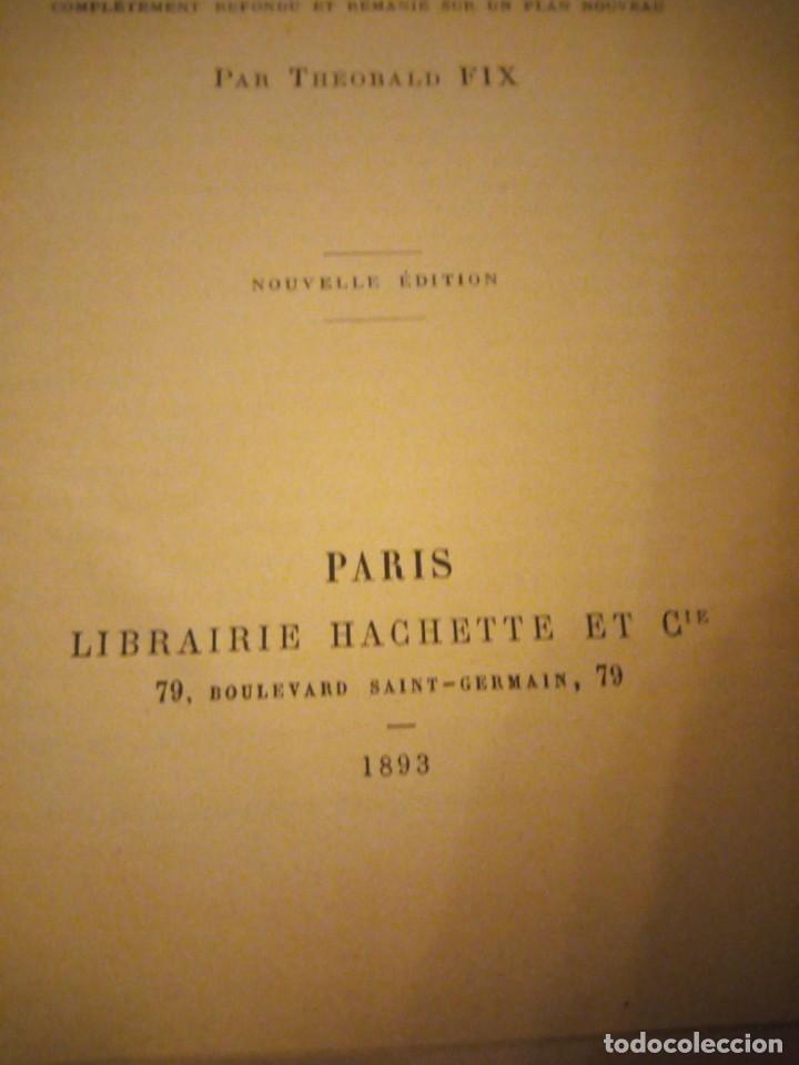 Diccionarios antiguos: DICTIONNAIRE ALLEMAND-FRANCAIS ET FRANCAIS-ALLEMAND,suckau-fix. 1893 - Foto 5 - 206413740