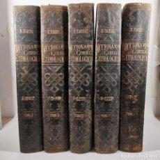 Diccionarios antiguos: DICCIONARIO GENERAL ETIMOLOGICO - R. BARCIA - 5 TOMOS - COMPLETO - SEIX EDITOR BARCELONA -. Lote 206478162