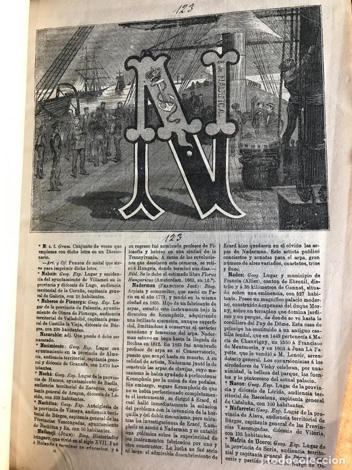 Diccionarios antiguos: Diccionario universal de la lengua castellana por Nicolas maría Serrano - Foto 2 - 206789042