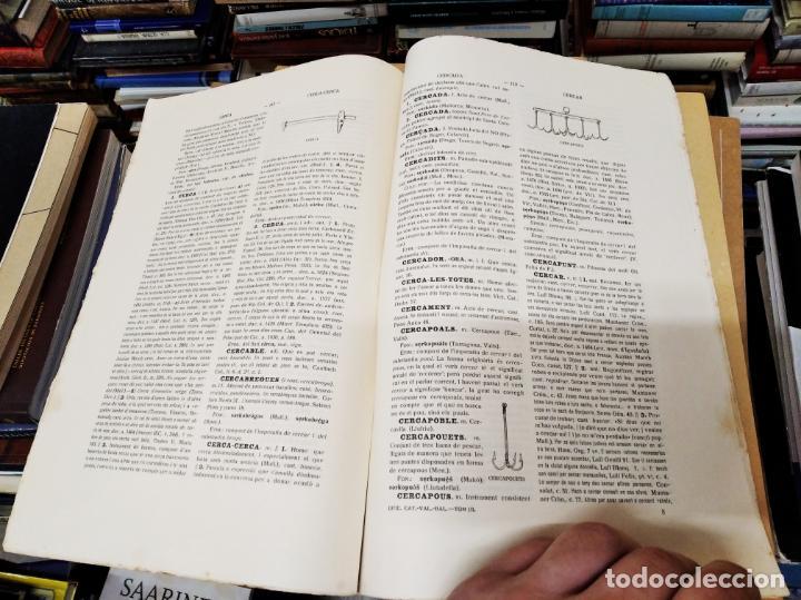 Diccionarios antiguos: IMPRESSIONANT LOT DE 7 FASCICLES DEL DICCIONARI CATALÀ - VALENCIÀ - BALEAR . 1935 - 1937 . MALLORCA - Foto 12 - 207038451