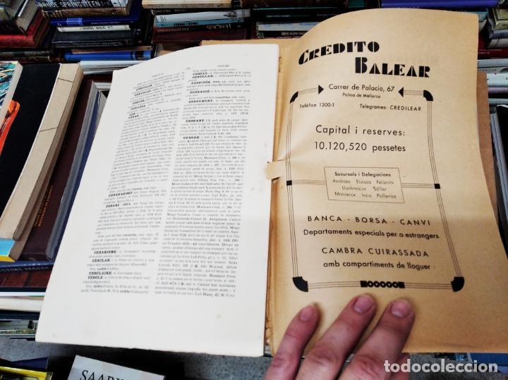Diccionarios antiguos: IMPRESSIONANT LOT DE 7 FASCICLES DEL DICCIONARI CATALÀ - VALENCIÀ - BALEAR . 1935 - 1937 . MALLORCA - Foto 13 - 207038451