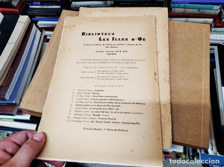 Diccionarios antiguos: IMPRESSIONANT LOT DE 7 FASCICLES DEL DICCIONARI CATALÀ - VALENCIÀ - BALEAR . 1935 - 1937 . MALLORCA - Foto 20 - 207038451