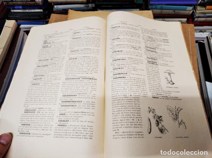 Diccionarios antiguos: IMPRESSIONANT LOT DE 7 FASCICLES DEL DICCIONARI CATALÀ - VALENCIÀ - BALEAR . 1935 - 1937 . MALLORCA - Foto 25 - 207038451