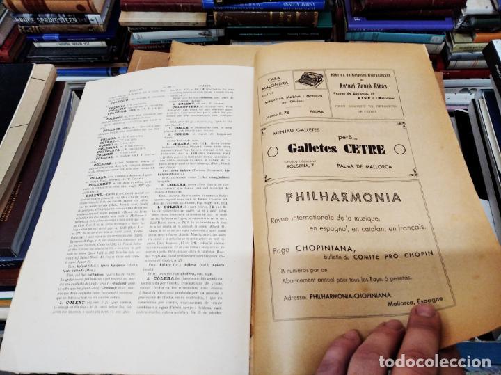Diccionarios antiguos: IMPRESSIONANT LOT DE 7 FASCICLES DEL DICCIONARI CATALÀ - VALENCIÀ - BALEAR . 1935 - 1937 . MALLORCA - Foto 26 - 207038451