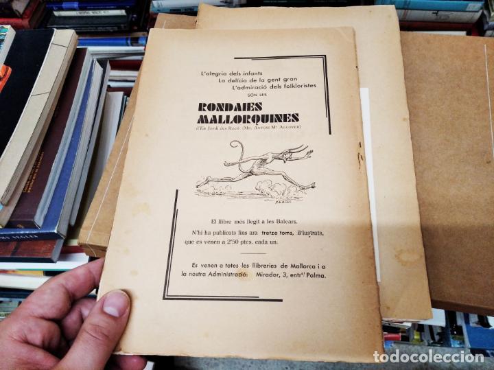 Diccionarios antiguos: IMPRESSIONANT LOT DE 7 FASCICLES DEL DICCIONARI CATALÀ - VALENCIÀ - BALEAR . 1935 - 1937 . MALLORCA - Foto 27 - 207038451