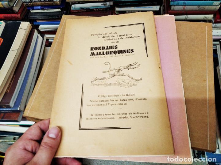Diccionarios antiguos: IMPRESSIONANT LOT DE 7 FASCICLES DEL DICCIONARI CATALÀ - VALENCIÀ - BALEAR . 1935 - 1937 . MALLORCA - Foto 35 - 207038451