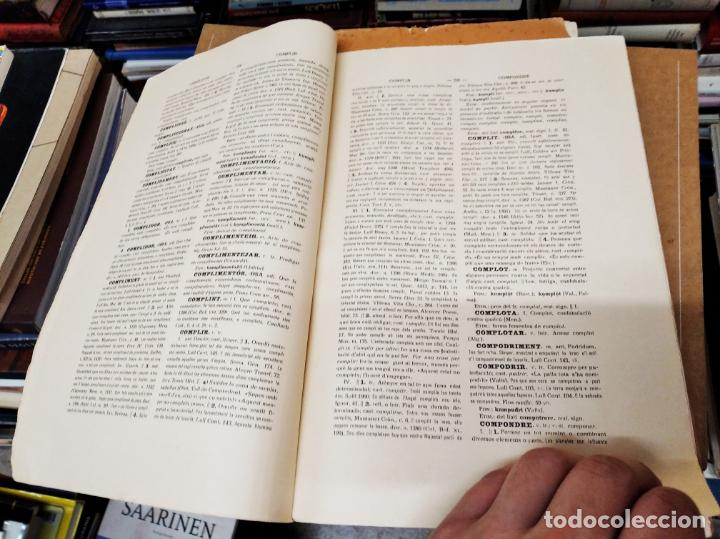 Diccionarios antiguos: IMPRESSIONANT LOT DE 7 FASCICLES DEL DICCIONARI CATALÀ - VALENCIÀ - BALEAR . 1935 - 1937 . MALLORCA - Foto 37 - 207038451