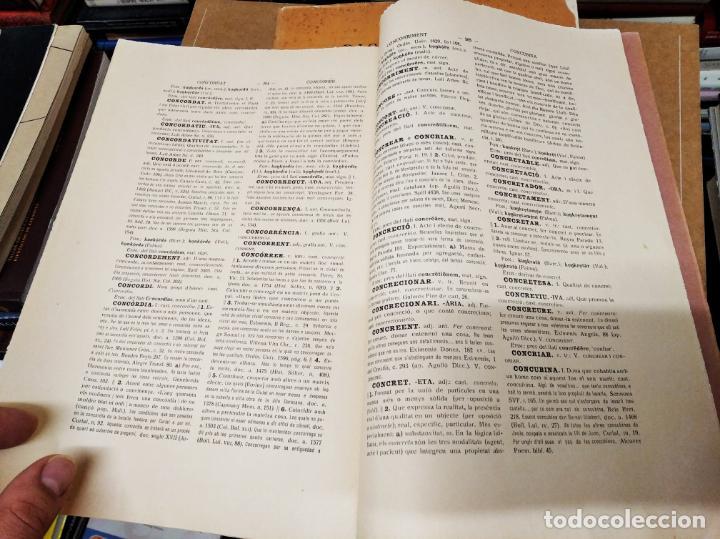 Diccionarios antiguos: IMPRESSIONANT LOT DE 7 FASCICLES DEL DICCIONARI CATALÀ - VALENCIÀ - BALEAR . 1935 - 1937 . MALLORCA - Foto 38 - 207038451