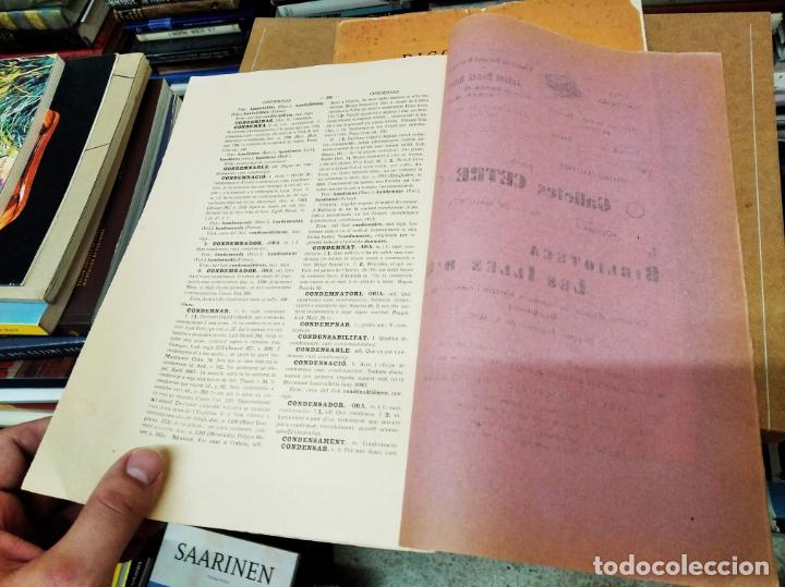 Diccionarios antiguos: IMPRESSIONANT LOT DE 7 FASCICLES DEL DICCIONARI CATALÀ - VALENCIÀ - BALEAR . 1935 - 1937 . MALLORCA - Foto 39 - 207038451