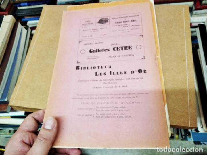 Diccionarios antiguos: IMPRESSIONANT LOT DE 7 FASCICLES DEL DICCIONARI CATALÀ - VALENCIÀ - BALEAR . 1935 - 1937 . MALLORCA - Foto 40 - 207038451