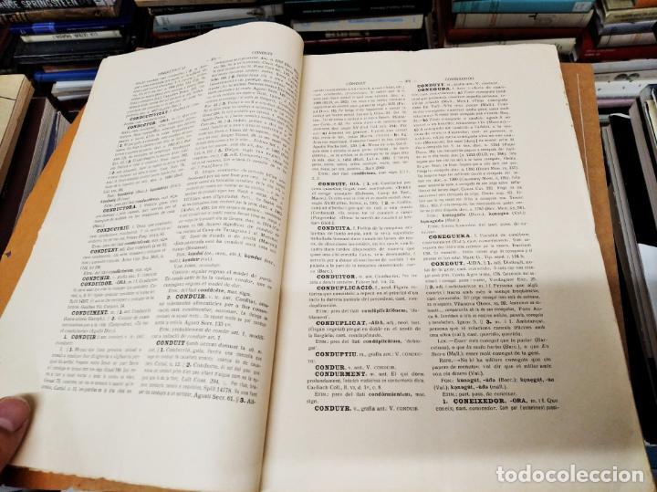 Diccionarios antiguos: IMPRESSIONANT LOT DE 7 FASCICLES DEL DICCIONARI CATALÀ - VALENCIÀ - BALEAR . 1935 - 1937 . MALLORCA - Foto 42 - 207038451