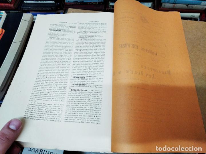 Diccionarios antiguos: IMPRESSIONANT LOT DE 7 FASCICLES DEL DICCIONARI CATALÀ - VALENCIÀ - BALEAR . 1935 - 1937 . MALLORCA - Foto 45 - 207038451