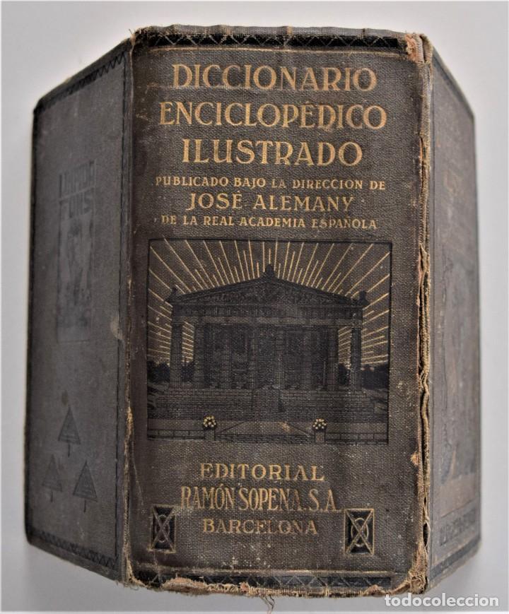 Diccionarios antiguos: DICCIONARIO ENCICLOPÉDICO ILUSTRADO - JOSÉ ALEMANY - LIMPIDA FONS - RAMÓN SOPENA, EDITOR 1932 - Foto 2 - 207305422