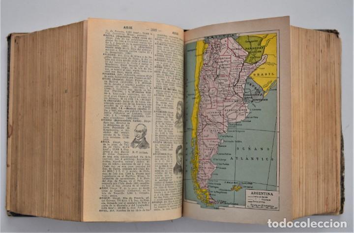 Diccionarios antiguos: DICCIONARIO ENCICLOPÉDICO ILUSTRADO - JOSÉ ALEMANY - LIMPIDA FONS - RAMÓN SOPENA, EDITOR 1932 - Foto 7 - 207305422