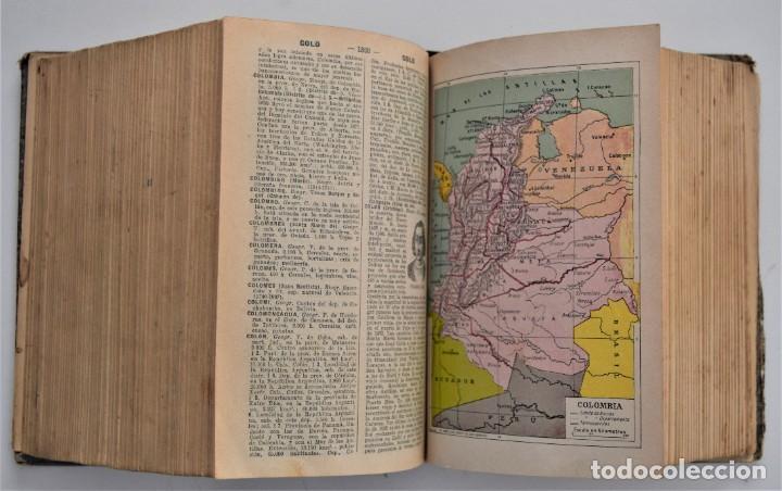 Diccionarios antiguos: DICCIONARIO ENCICLOPÉDICO ILUSTRADO - JOSÉ ALEMANY - LIMPIDA FONS - RAMÓN SOPENA, EDITOR 1932 - Foto 8 - 207305422