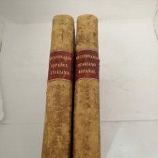 Diccionarios antiguos: NUEVO DICCIONARIO ITALIANO-ESPAÑOL + NUEVO DICCIONARIO ESPAÑOL-ITALIANO (1869). Lote 207456421