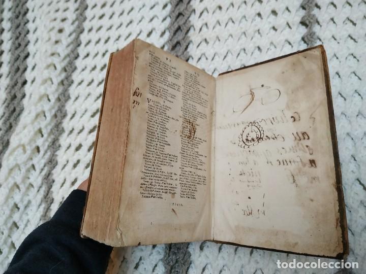 Diccionarios antiguos: 1732. Dictionarium Universale Latino Gallicum - Joannis Boudot. Firma del Autor. Muy raro - Foto 6 - 207578102