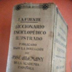 Libri antichi: DICCIONARIO ENCICLOPEDICO ILUSTRADO JOSE ALEMANY. Lote 207597382