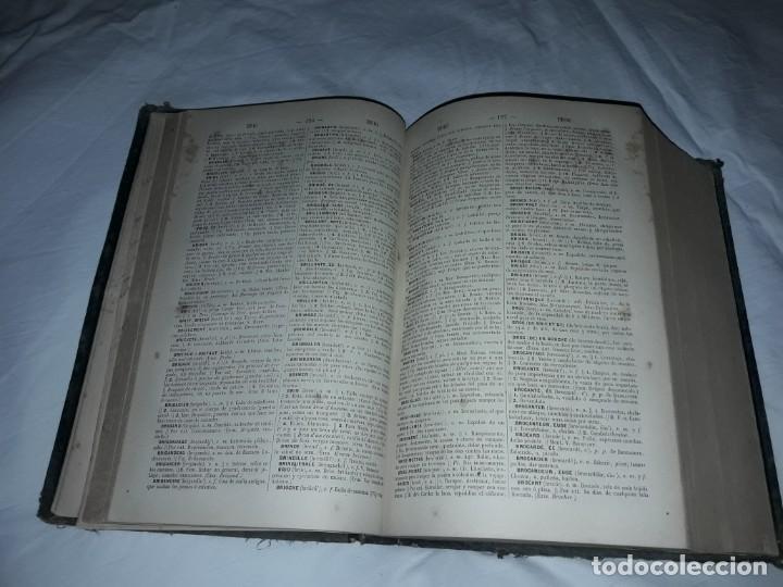 Diccionarios antiguos: F. Corona Bustamante - antiguo Diccionario Francés-Español año 1882 - Foto 3 - 207727272