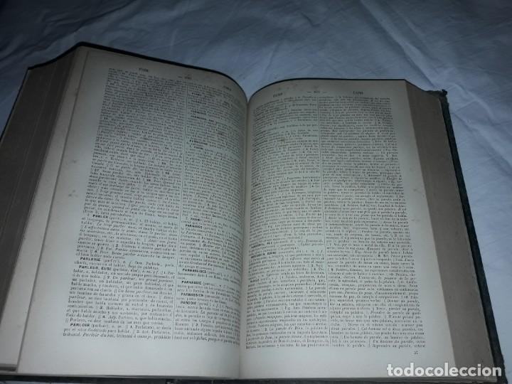 Diccionarios antiguos: F. Corona Bustamante - antiguo Diccionario Francés-Español año 1882 - Foto 5 - 207727272