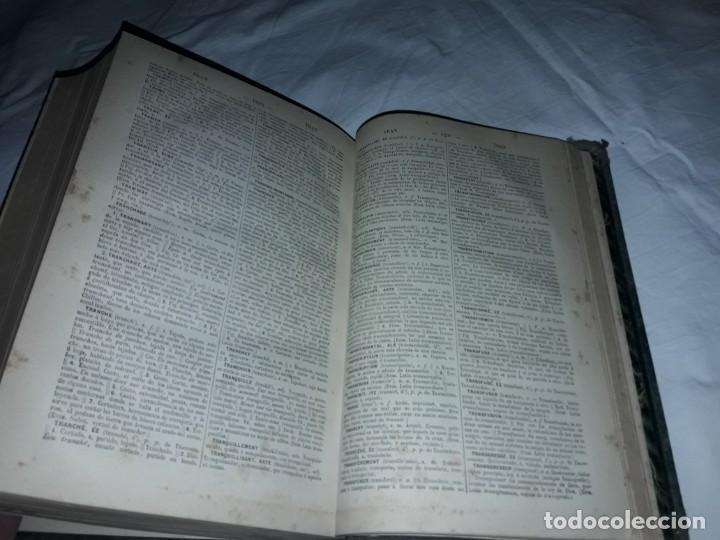 Diccionarios antiguos: F. Corona Bustamante - antiguo Diccionario Francés-Español año 1882 - Foto 10 - 207727272