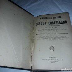 Diccionarios antiguos: ANTIGUO DICCIONARIO GENERAL LENGUA CASTELLANA ANTONIO SAN DE VELILLA AÑO 1906. Lote 207729357