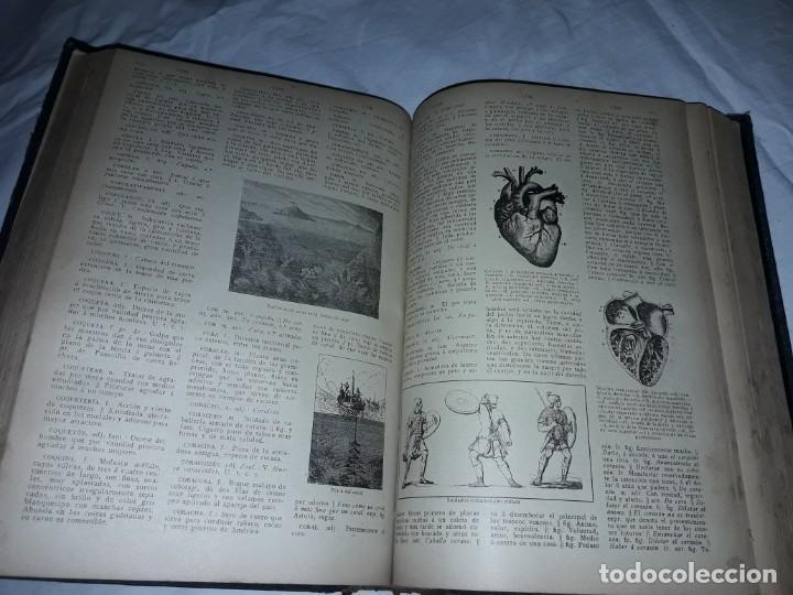 Diccionarios antiguos: Antiguo Diccionario General Lengua Castellana Antonio San de Velilla año 1906 - Foto 3 - 207729357