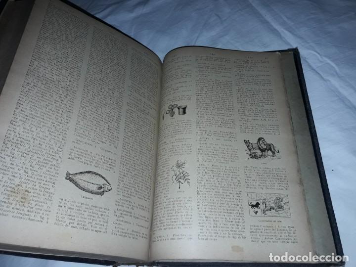 Diccionarios antiguos: Antiguo Diccionario General Lengua Castellana Antonio San de Velilla año 1906 - Foto 8 - 207729357